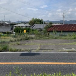 紀の川市上田井(土地)バイパス24号沿い!