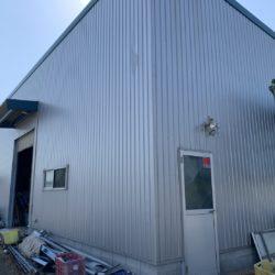 紀の川市桃山町の倉庫